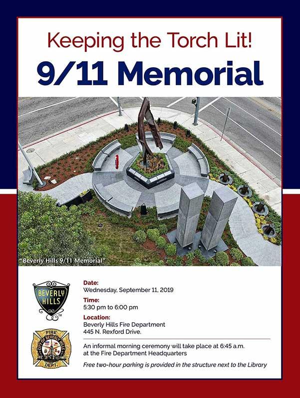 Beverly Hills 9/11 Memorial Garden Challenge Coin | Beverly